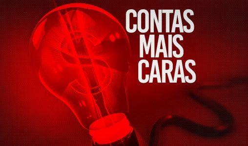 MAIS AUMENTO!! Bandeira vermelha pode sair de R$ 9,49 para R$ 14,20 na nossa conta de luz.